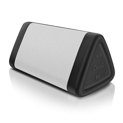 OontZ Angle 3 Portable Bluetooth Speaker, IPX5 Water Resistant by Cambridge SoundWorks (White)