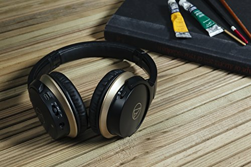Audio-Technica ATH-AR3BTBK SonicFuel Bluetooth Wireless On-Ear Headphones with Mic & Control - Black