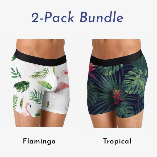 Boxer Brief 2-Pack - Flamingo And Tropical