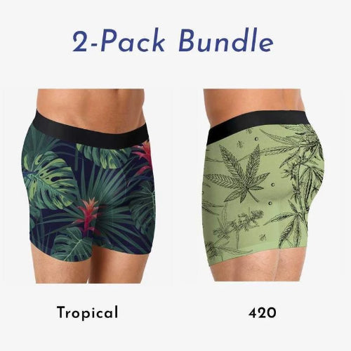 Boxer Brief 2-Pack - Tropical And 420