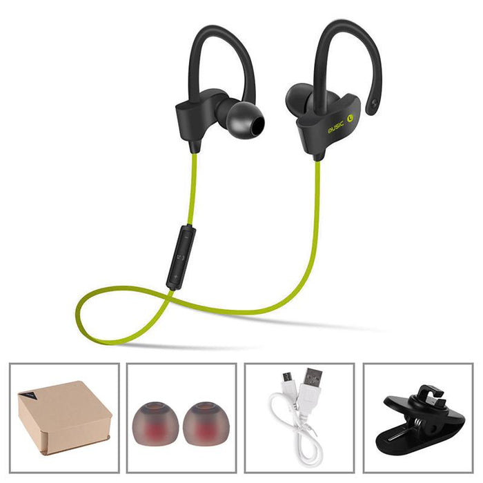 Action! Wireless Water-Resistant Sports Earbuds