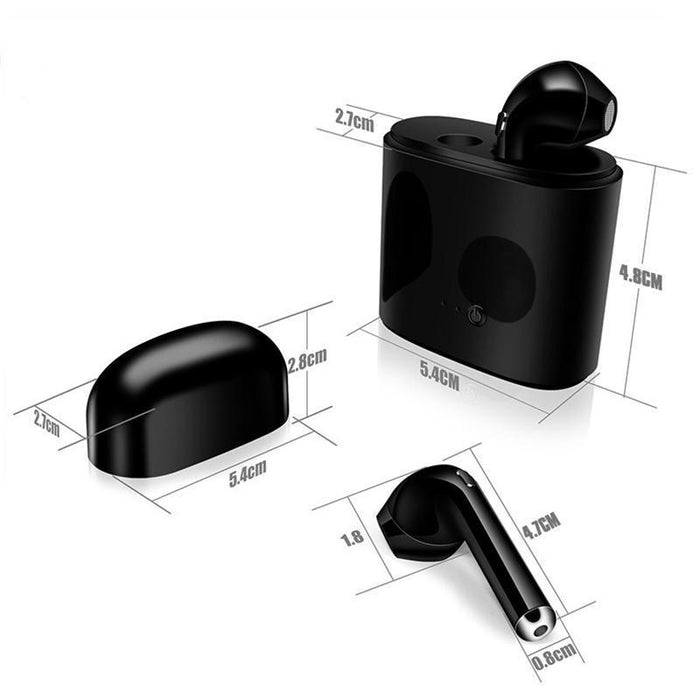 Insta7 True Wireless Bluetooth Earbuds - Free Shipping