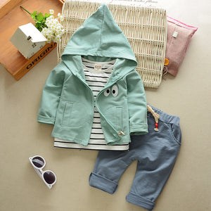 Hoodie 3 pieces set outfit