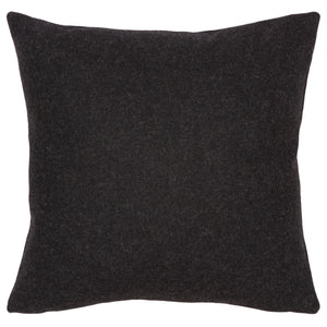 black wool cushion