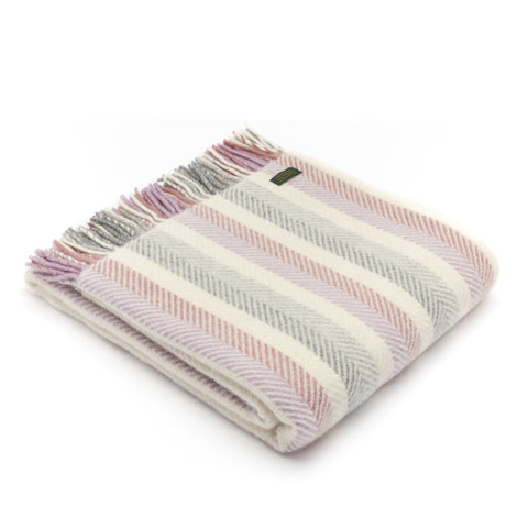 Tweedmill Striped Wool Throw