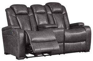 Turbulance Reclining Power Loveseat