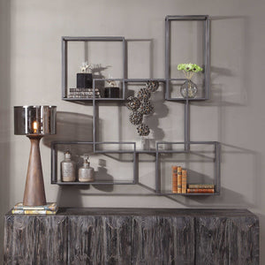 QUENTIN METAL WALL SHELF