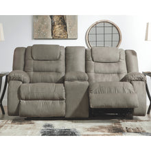 Load image into Gallery viewer, McCade DBL Rec Loveseat w/Console