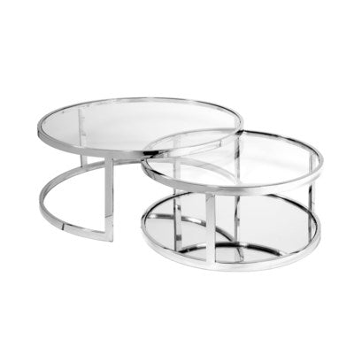 AVON 2PC NESTING COFFEE TABLE