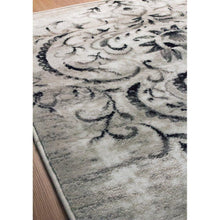 Load image into Gallery viewer, Platinum Venetian Silver Damask Rug