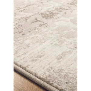 Intrigue Distressed Damask Rug