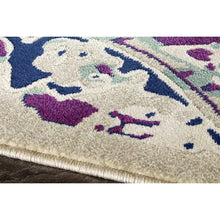 Load image into Gallery viewer, Topaz Colourful Distressed Ornamental Pattern Rug
