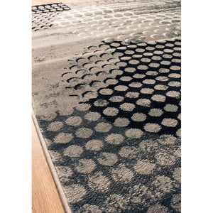 Platinum Industrial Crate Rug