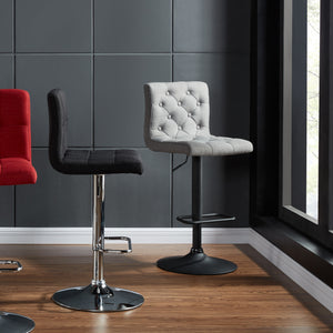 Dex Gas Lift Stool in Grey