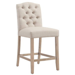"Lucian 26"" Counter Stool in Beige"