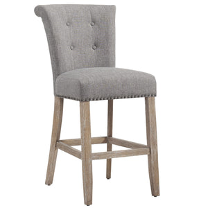 "Selma 26"" Counter Stool in Vintage Oak/Grey"