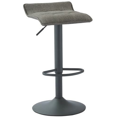Pluto Air Lift Stool, set of 2 in Grey