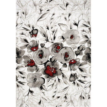 Load image into Gallery viewer, Platinum Rose Rug