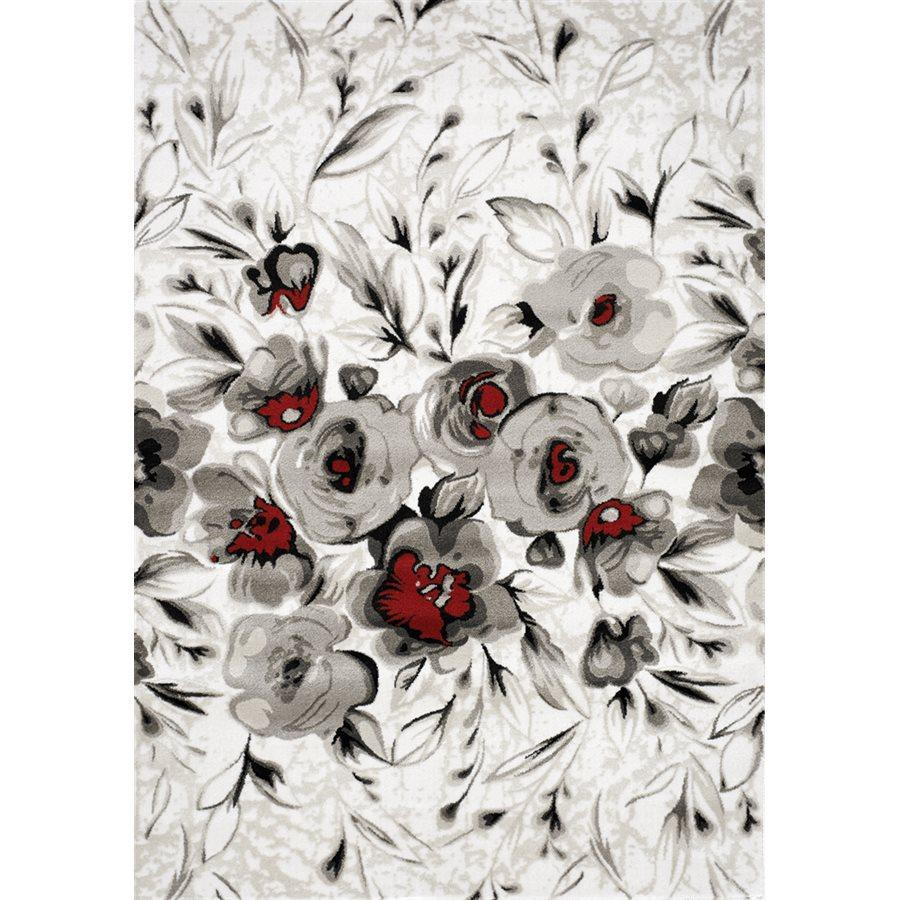 Platinum Rose Rug