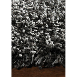 Opus Luxurious Speckled Charcoal Shag Rug