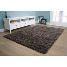 Load image into Gallery viewer, Opus Luxurious Speckled Charcoal Shag Rug