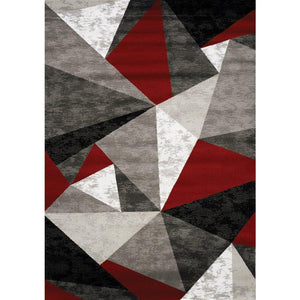 Platinum Triangles Rug