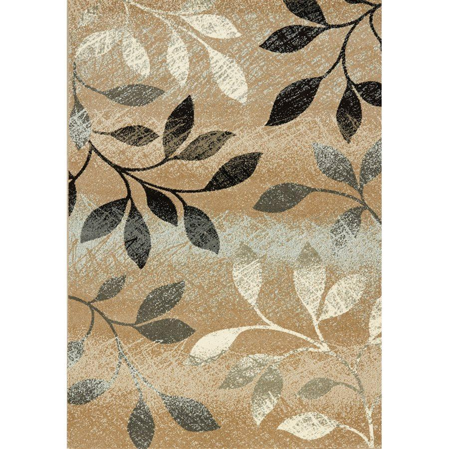 Casa Distressed Leaves  Rug