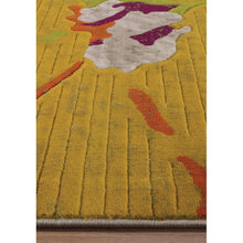 Load image into Gallery viewer, Topaz Watercolor Flowers Texture Rug