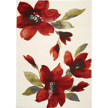 Load image into Gallery viewer, Safi Watercolor Flowers I Rug