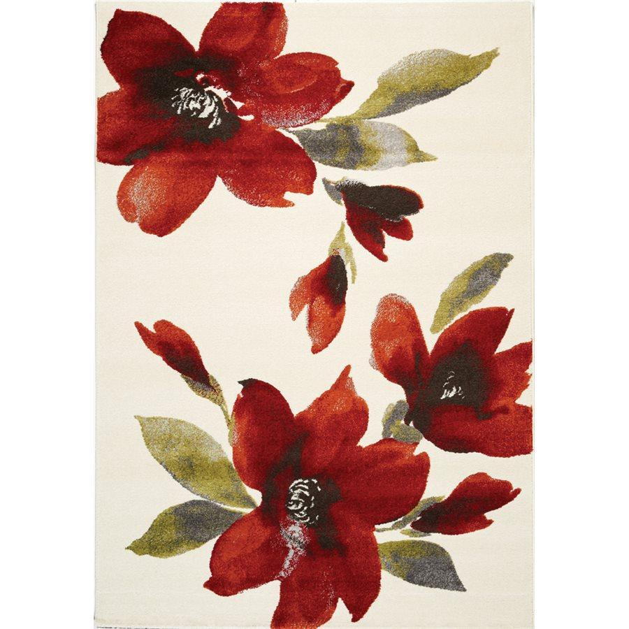 Safi Watercolor Flowers I Rug