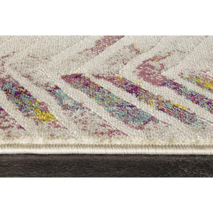 Topaz Distressed Chevron Rug