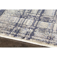 Load image into Gallery viewer, Alaska Distressed Hatching Rug