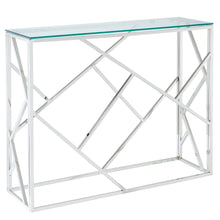 Load image into Gallery viewer, JUNIPER-CONSOLE TABLE-SILVER