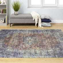 Load image into Gallery viewer, Morello Distressed Traditional Rug