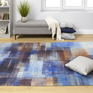 Morello Overlapping Paint Rug