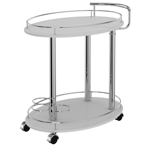 INKA-2-TIER BAR CART-GREY
