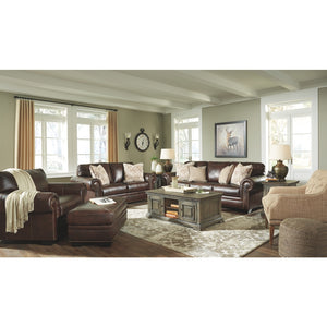 Roleson Leather Sofa & Loveseat