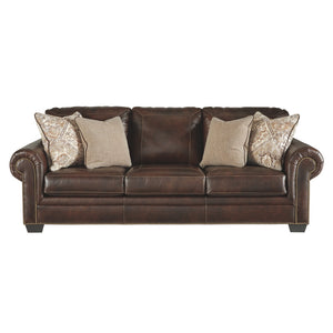 Roleson Leather Sofa