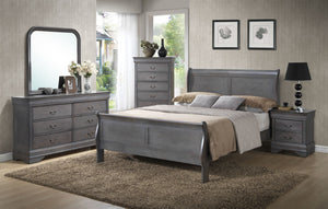 Louis Phillip Queen Bedroom set All 8PC