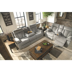Mitchiner REC Sofa w/Drop Down Table