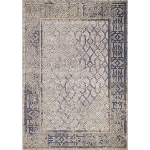 Darcey Distressed Border Rug