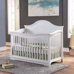 Brooklyn 4-in-1 Crib - White