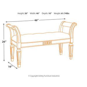 Realyn Accent Bench