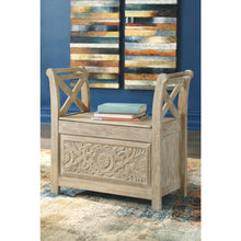 Load image into Gallery viewer, Fossil Ridge Accent Bench