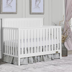 Ariana 4-in-1 Crib - White