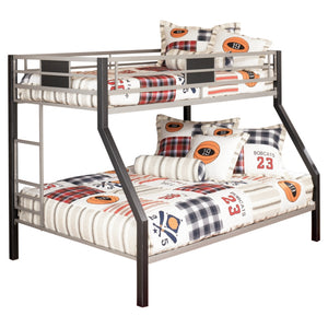 Dinsmore Twin/Full Bunk Bed w/Ladder