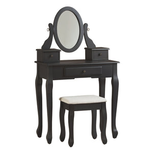 Huey Vineyard Vanity/Mirror/Stool (3/CN)