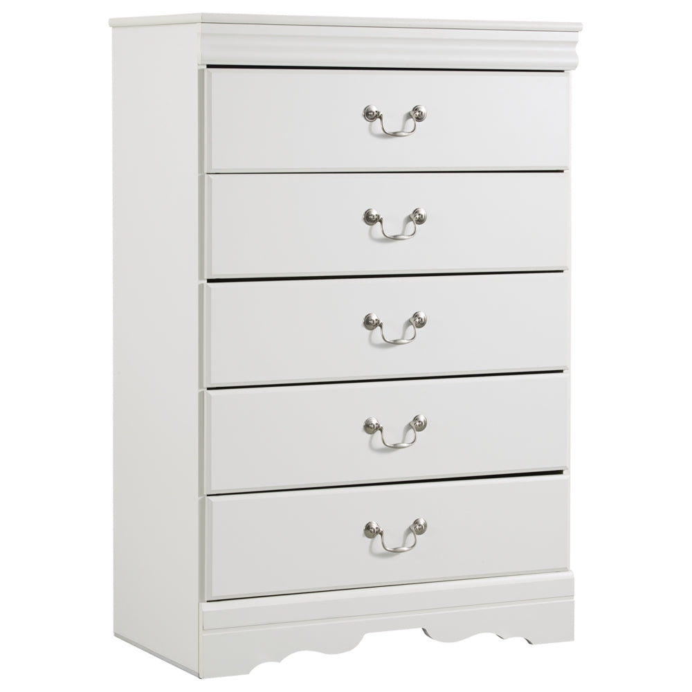 Anarasia Five Drawer Chest
