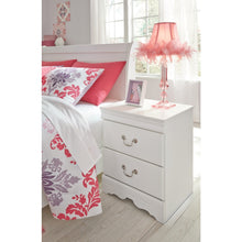 Load image into Gallery viewer, Anarasia Two Drawer Night Stand