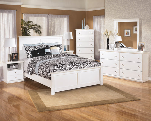 Bostwick Shoals King Panel Bed 6Pc Set